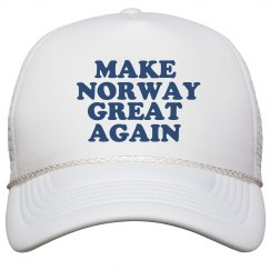 Make Norway Great Again Hat