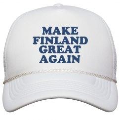 Make Finland Great Again Hat