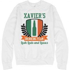 Xavier's Irish Drinking Team