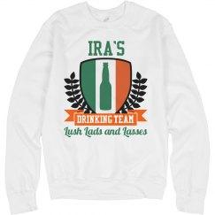 Ira's Irish Drinking Team
