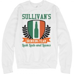 Sullivan's Irish Drinking Team