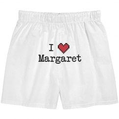 I Heart Margaret Boxers
