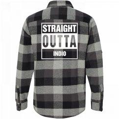 Straight Outta INDIO Flannel
