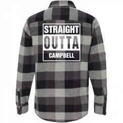 Straight Outta CAMPBELL Flannel