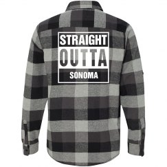 Straight Outta SONOMA Flannel