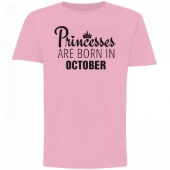 Girls Princesses Are Born In October