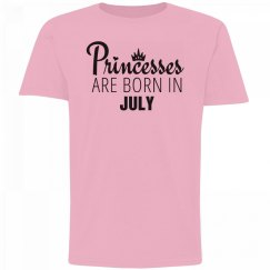 Girls Princesses Are Born In July