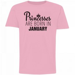 Girls Princesses Are Born In January