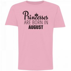Girls Princesses Are Born In August
