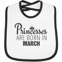 Princesses Are Born In March