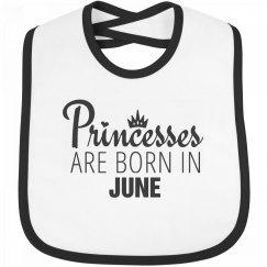 Princesses Are Born In June