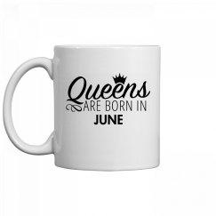 Coffee Queens Are Born In June