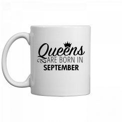 Coffee Queens Are Born In September