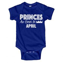 Princes Are Born In April