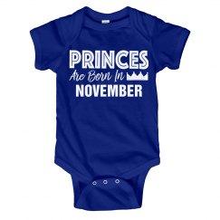 Princes Are Born In November