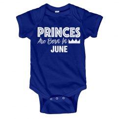 Princes Are Born In June