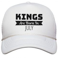 Birthday Kings Are Born In July