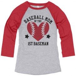 The 1st Baseman Is My Son