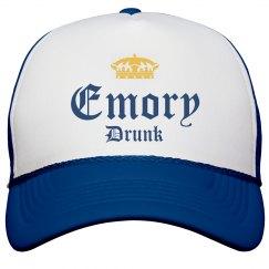 Funny Emory Is Drunk Beer Hat