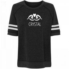 Comfy Gymnastics Girl Crystal