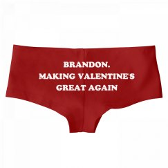 Brandon. Making Valentine's Day Great Again