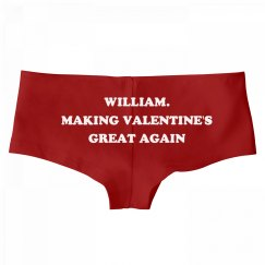 William. Making Valentine's Day Great Again