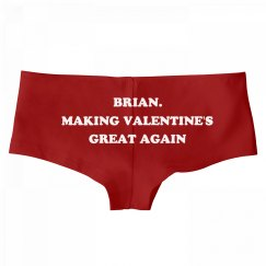 Brian. Making Valentine's Day Great Again