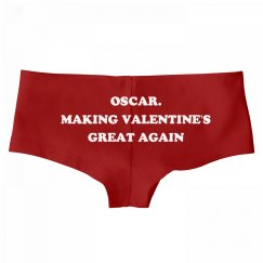 Oscar. Making Valentine's Day Great Again