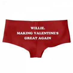 Willie. Making Valentine's Day Great Again