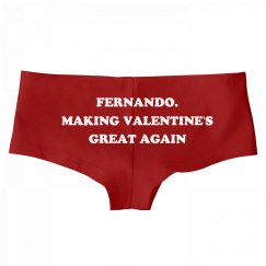 Fernando. Making Valentine's Day Great Again