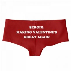 Sergio. Making Valentine's Day Great Again