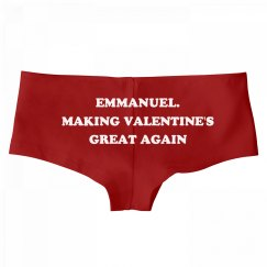 Emmanuel. Making Valentine's Day Great Again