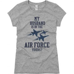 My Husband in the Air Force