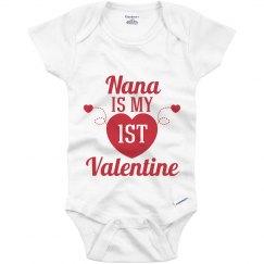 Baby First Valentine Nana