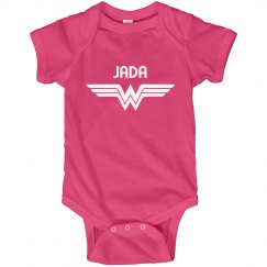 Baby Jada Pink Wonder Woman