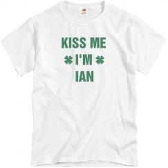 St. Pat's Kiss Me I'm Ian