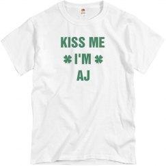 St. Pat's Kiss Me I'm Aj