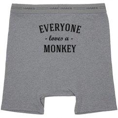 Everyone Loves A Monkey