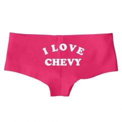 I Love Chevy Underwear