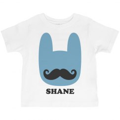 Funny Easter Bunny Mustache Shane