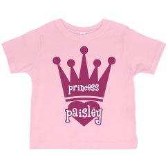 Princess Paisley Girl Toddler
