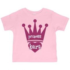 Princess Keira Girl Toddler