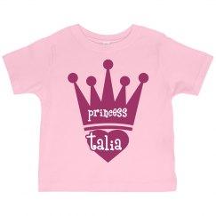 Princess Talia Girl Toddler