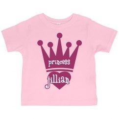 Princess Jillian Girl Toddler