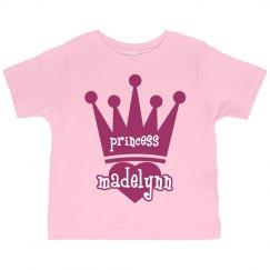 Princess Madelynn Girl Toddler