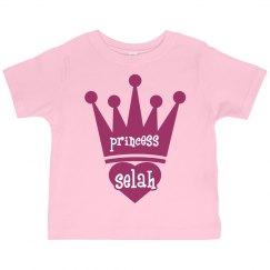 Princess Selah Girl Toddler