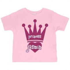 Princess Jasmin Girl Toddler