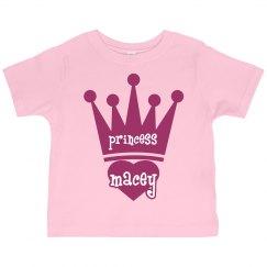 Princess Macey Girl Toddler