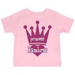 Princess Kambree Girl Toddler