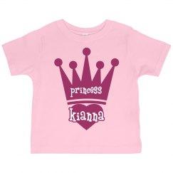 Princess Kianna Girl Toddler